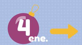 Programacion Navidad domingo, 4 enero