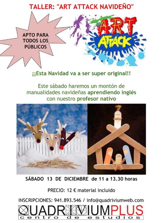 TALLER-ART-ATTACK-de-Navidad-en-Quadrivium