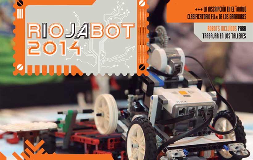 Taller de robótica en Navidad: Riojabot