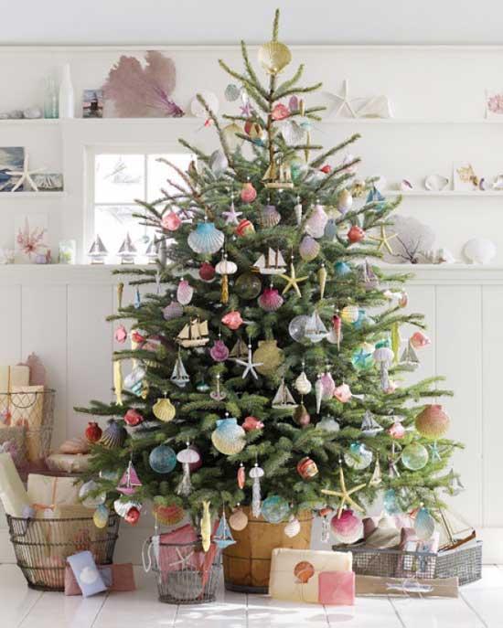 Ideas Para Decorar El Arbol De Navidad - Ideas-arboles-de-navidad