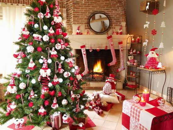 Ideas Para Decorar El Arbol De Navidad - Como-decorar-el-arbol-navideo