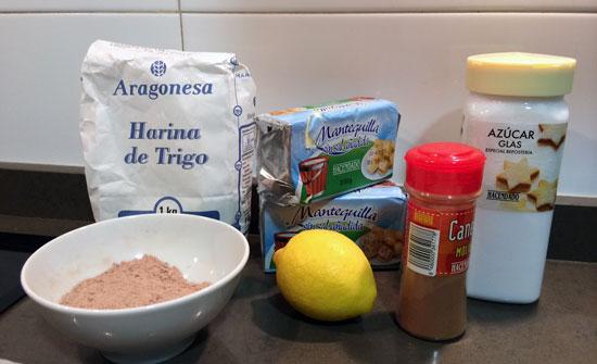 receta polvorones caseros