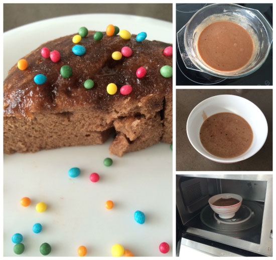 Bizcocho-de-chocolate-al-microondas