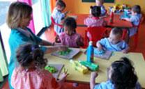 Los sábados por la mañana, ludoteca para bebés y niños