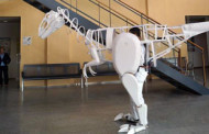Dinosaurio gigante en la Casa de las Ciencias