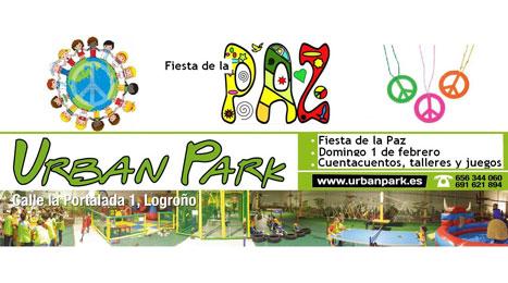 Este domingo, fiesta de la Paz en Urban Park