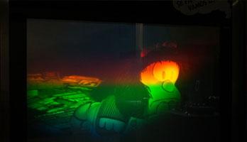 Expo de hologramas en la Casa de las Ciencias