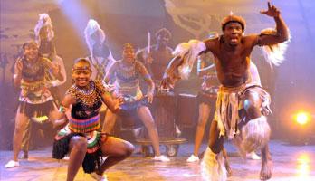 Mother África. Circo de los sentidos, música y danza africana