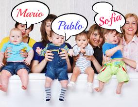 Los nombres más puestos a los bebés en La Rioja