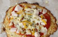 Pizza de coliflor, saludable y rica