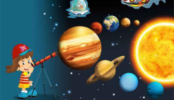 Astronomía para niños en la Casa de las Ciencias