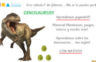 Taller en inglés sobre los dinosaurios