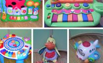 Se vende: juguetes de bebé