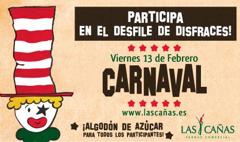 Desfile infantil de Carnaval con premios en Las Cañas