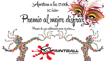 Concurso infantil de disfraces en Paintball Ocio Rioja