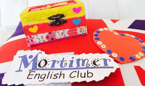 Taller de manualidades en inglés especial San Valentín