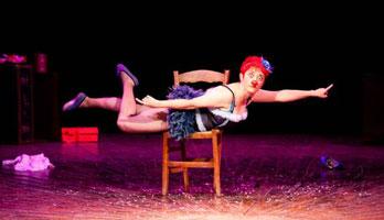 La payasa Merche Ochoa inaugura el Festival Teatrea