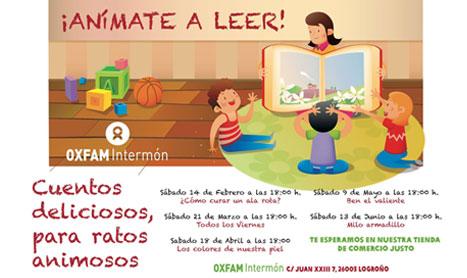 Cuentacuentos en Intermon Oxfam