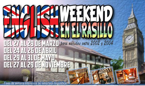 Fin de semana de inmersión en inglés en El Rasillo