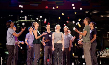 Circo, malabares y acrobacias en el festival Teatrea