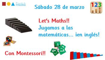 Matemáticas Montessori en inglés en El Secreto de Pitágoras