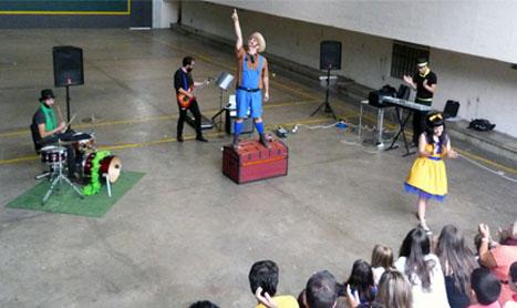Concierto de música con el grupo infantil Palodú