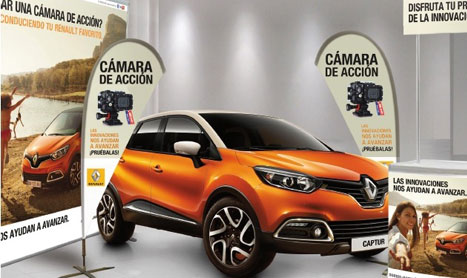 Talleres para familias y niños en Renault
