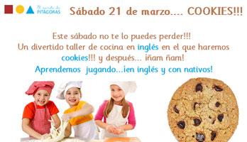 Taller de galletas en inglés