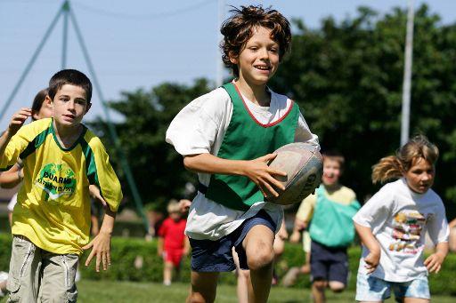 Jornada de promoción del rugby dentro de los Juegos Deportivos Escolares