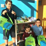 Children bags and library