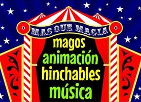 Más que magia, animación para fiestas