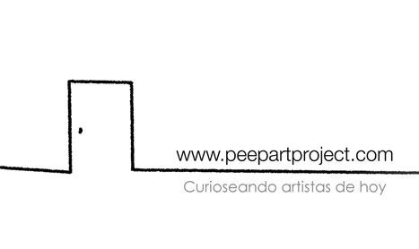 Acercamiento al arte y a los artistas: Peepart Project