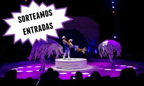 Ganadores entradas para el estreno de 'Circo Alegría on Ice'