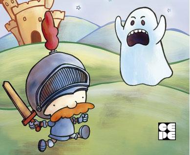 Cuentos divertidos de fantasmas y valientes