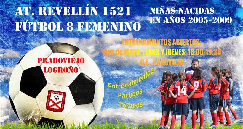 El Atlético Revellín busca jugadoras de fútbol
