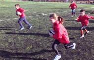 Jornada de iniciación al rugby para chicas