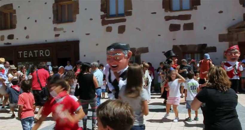 Fiestas de Santa Bárbara, en Ezcaray