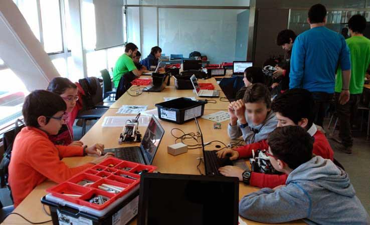 Campus tecnológico para niños en la Universidad de La Rioja