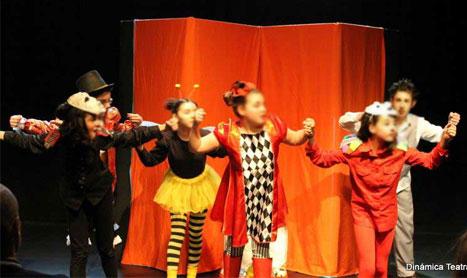 Actividades artísticas en Dinámica Teatral