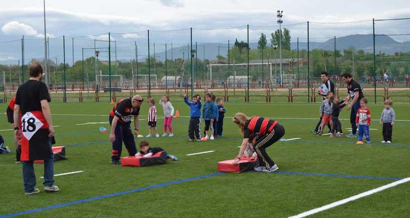 Nace la primera 'Escuelita' de Rugby riojana, para niños a partir de 3 años