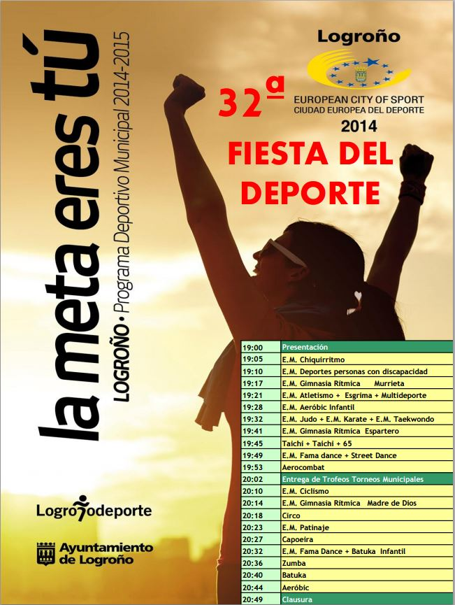 Fiesta del Deporte Logrono Deporte