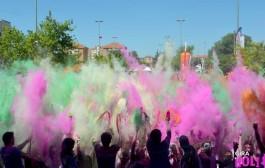 La 'Holi Run', la carrera de colores, vuelve a Logroño