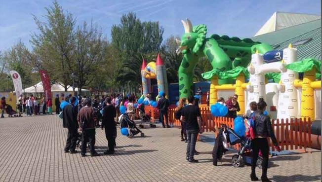 Este sábado, más deporte para niños en Las Norias