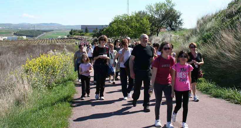 Este domingo, paseo saludable hasta Villamediana