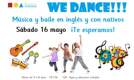 Música y baile en inglés en El Secreto de Pitágoras