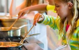 Taller de cocina para niños en Rincón de Soto