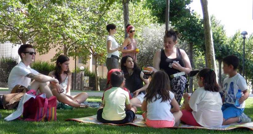 Campamento urbano en inglés con Whizdom English