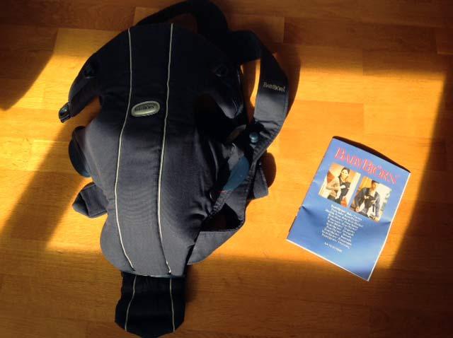 Se vende: mochila portabebé Baby Björn