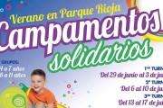 Campamentos solidarios en el centro comercial Parque Rioja