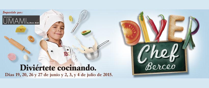 Diver Chef Berceo: Talleres de cocina gratuitos en el centro comercial